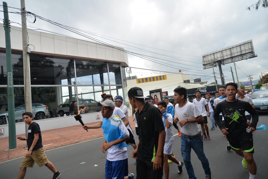 El bulevar Liberación es uno de los más afectados desde las primeras horas del 14 de septiembre. (Foto: Wilder López/Soy502)