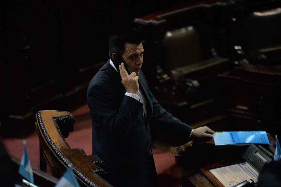 """Rodas confirmó que el nombre """"Podemos"""" surgió de conversaciones con diputados, pero no es definitivo y que no busca, ahora, conformar un partido político. (Foto: Wilder López/Soy502)"""