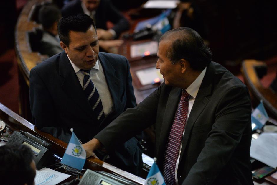 Rodas afirma que la próxima semana estará conformado un nuevo bloque legislativo en el Congreso. (Foto: Wilder López/Soy502)