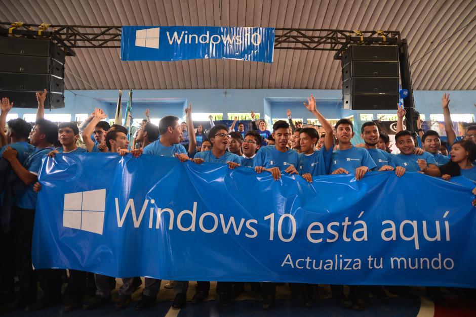 Desde este miércoles puedes actualizar a Windows 10.(Foto: Wilder López/Soy502)