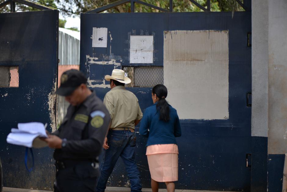 Se espera que mañana se pueden normalizar la situación de las visitas. (Foto: Wilder López/Soy502)