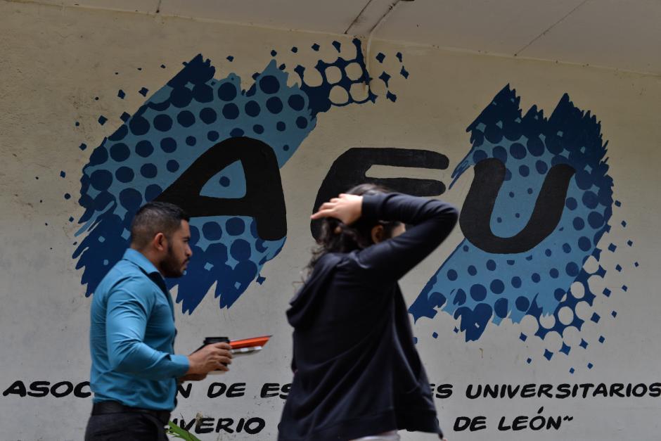El movimiento estudiantil surgió tras los pocos resultados de la AEU en favor de la comunidad sancarlista. (Foto: Wilder López/Soy502)