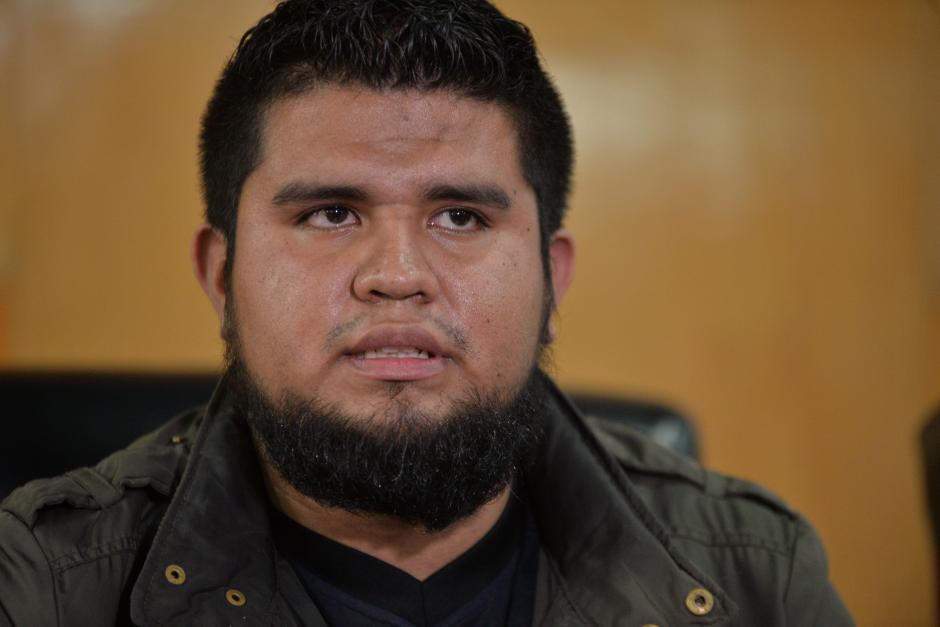 Kevin Caná espera que las 19 asociaciones estudiantiles se unan al movimiento. (Foto: Wilder López/Soy502)