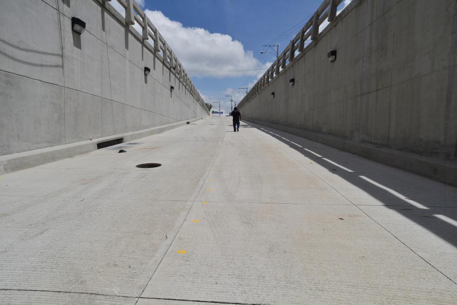 La conexión vial espera beneficiar a unos 70 mil vehículos que circulan a diario por el lugar. (Foto: Wilder López/Soy502)