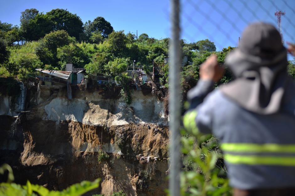 Vecinos del lugar relatan que desde 2012 les habían advertido que esa es un área en peligro. (Foto: Wilder López/Soy502)