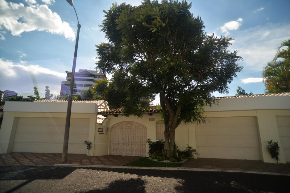 La casa del Vicepresidente se encuentra en La Cañada, zona 14. (Foto: Wilder López/Soy502)