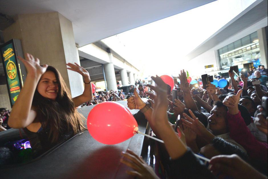 Karla regresará a Guatemala esta semana para cantar en un concierto en Amatitlán. (Foto: Wilder López/Soy502)
