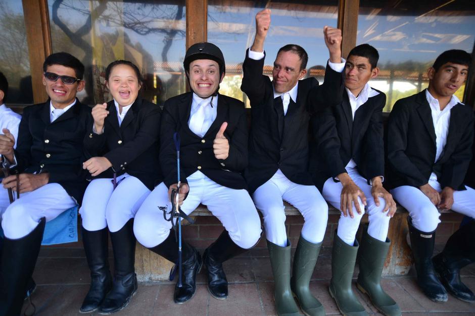 El equipo de Guatemala mostro su unidad durante toda la prueba. (Foto: Wilder López/soy502)