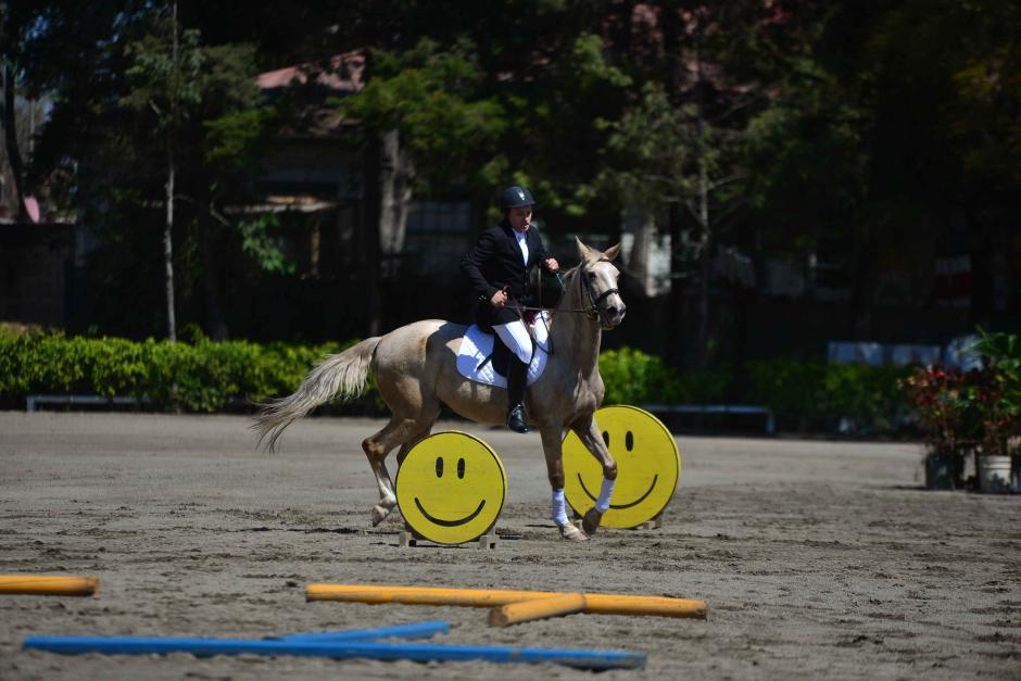 El Primer Torneo Internacional de Equitación Olimpiadas Especiales Guatemala se llevó a cabo en las instalaciones del Hipódromo del Sur. (Foto: Wilder López/Soy502)
