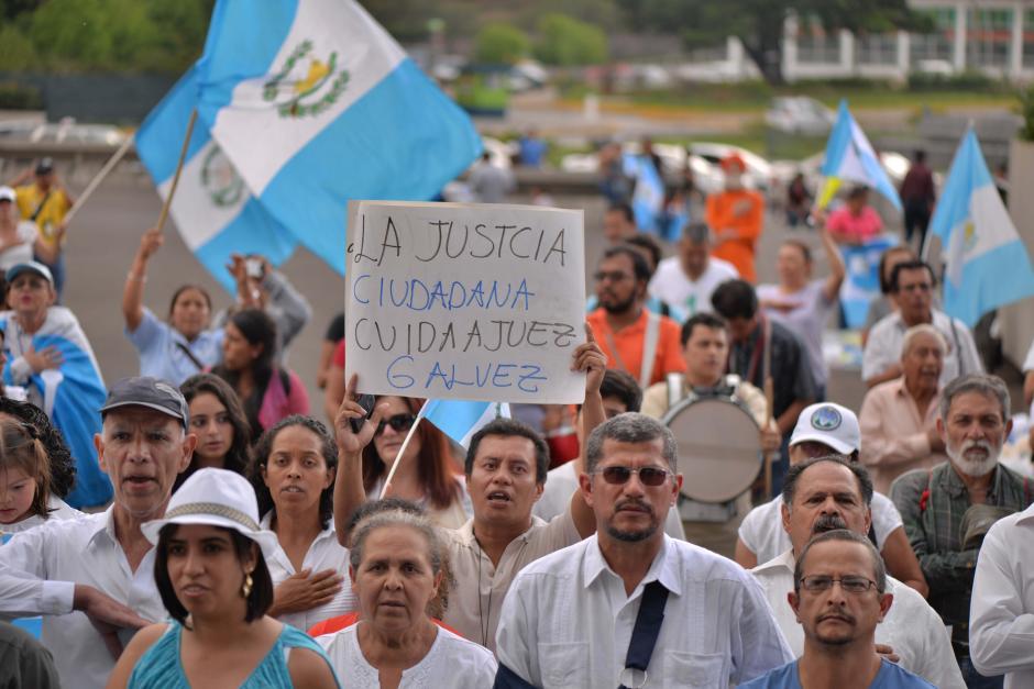 Muchas personas acudieron a la convocatoria. (Foto: Wilder López/Soy502)