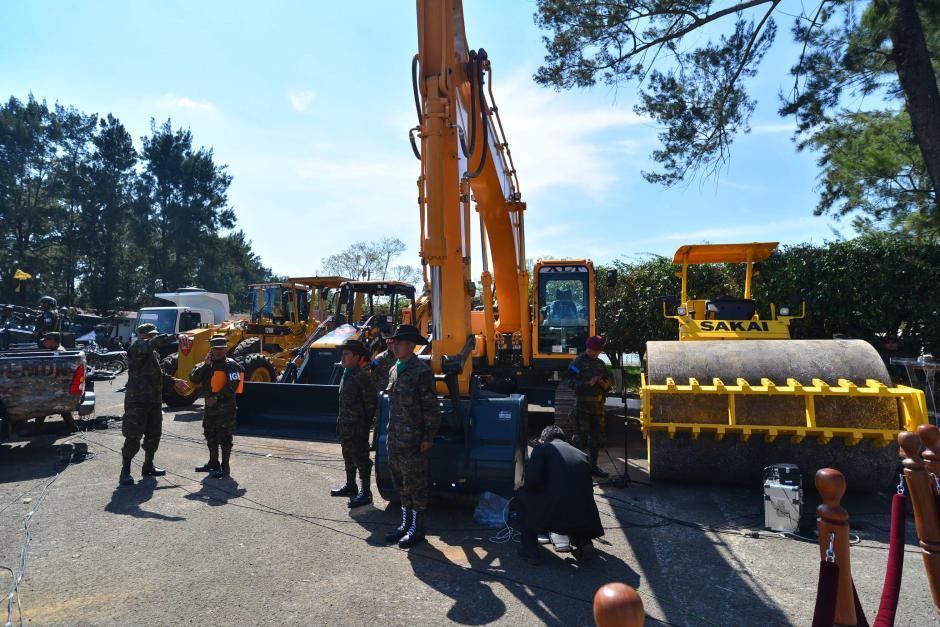 Las máquinas empezarán su trabajo en Champerico, Retalhuleu. (Foto: Wilder López/Soy502)