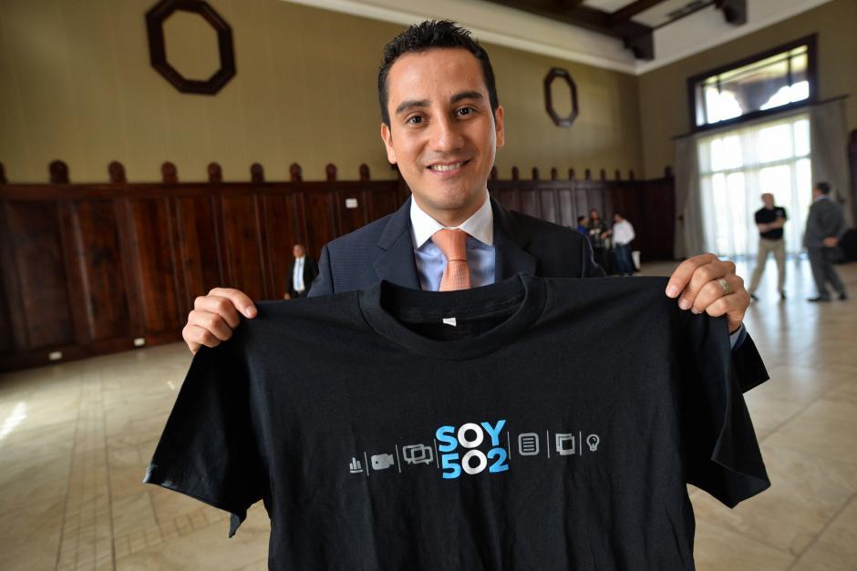 José del Valle es el periodista guatemalteco integrante del programa Fuera de Juego de ESPN. (Foto: Wilder López/Soy502)