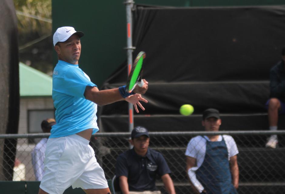 Wilfredo González dio el primer punto al equipo guatemalteco.   (Foto: Luis Barrios/Soy502)