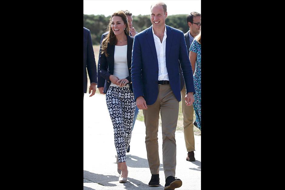 Una vez que Douglas-Hughes se recuperó, la pareja real siguió con el evento. (Foto: Archivo)