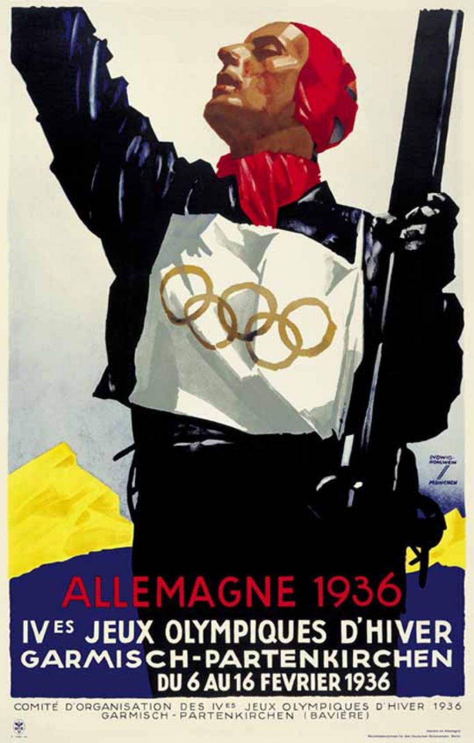 En 1936, los juegos fueron en Alemania.