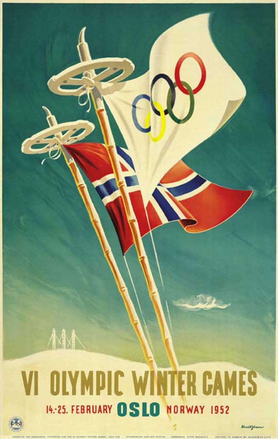 Oslo, Noruega fue sede de los juegos de 1952.