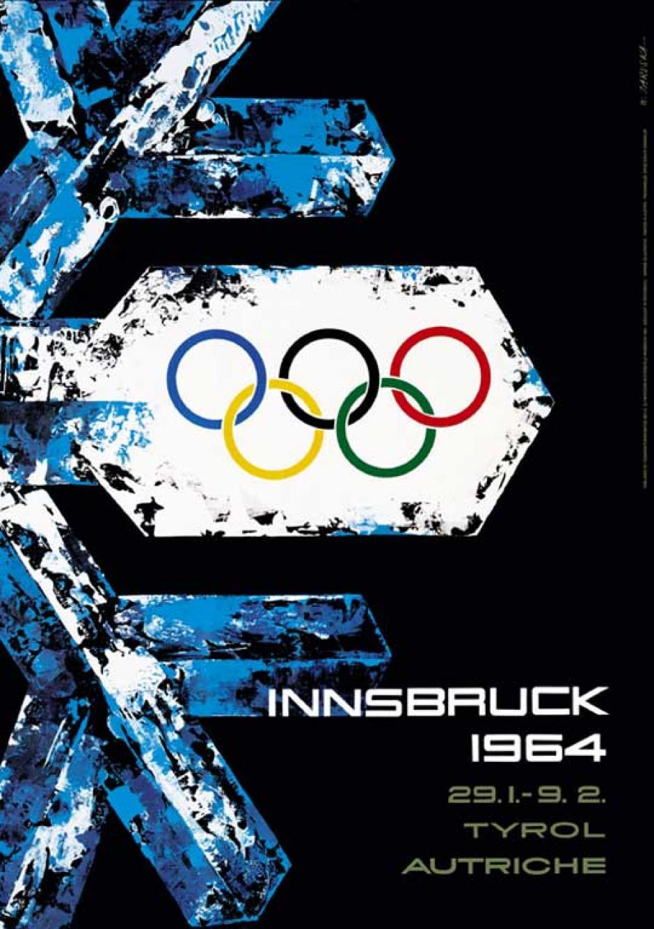 Innsbruck, Austria la sede de 1964.