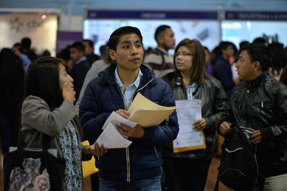 En total se ofrecen hasta 2 mil empleos. (Foto: Wilder López/Soy502)
