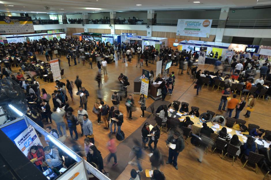 Se espera la llegada de más de 12 mil jóvenes en busca de empleo. (Foto: Wilder López/Soy502)