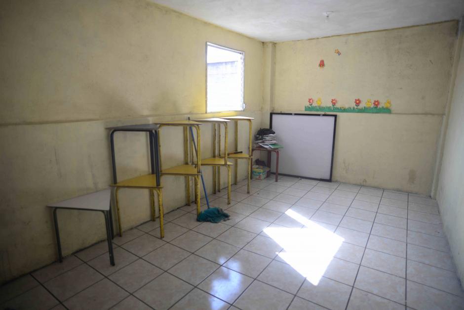 Con mucho esfuerzo Tabitha tiene un lugar digno para que los niños estudien. (Foto: Wilder López/Soy502)