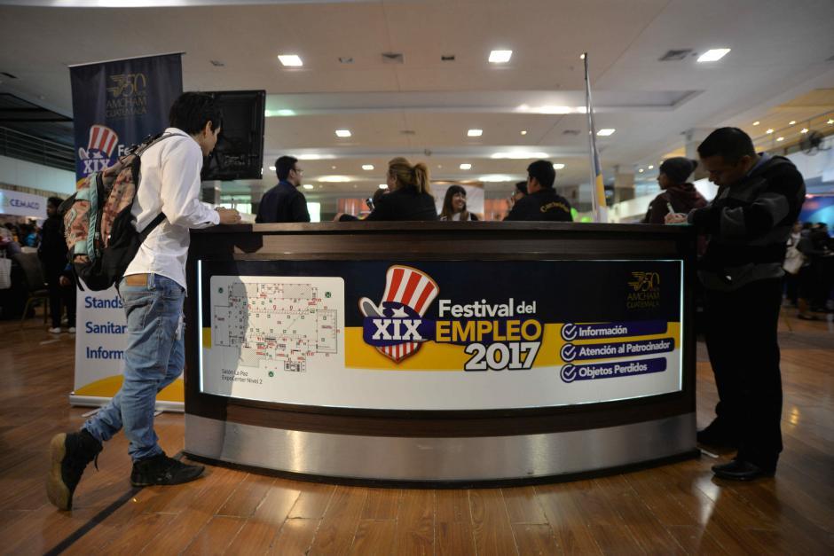 Amcham organiza la primera feria de empleo de 2017. (Foto: Wilder López/Soy502)