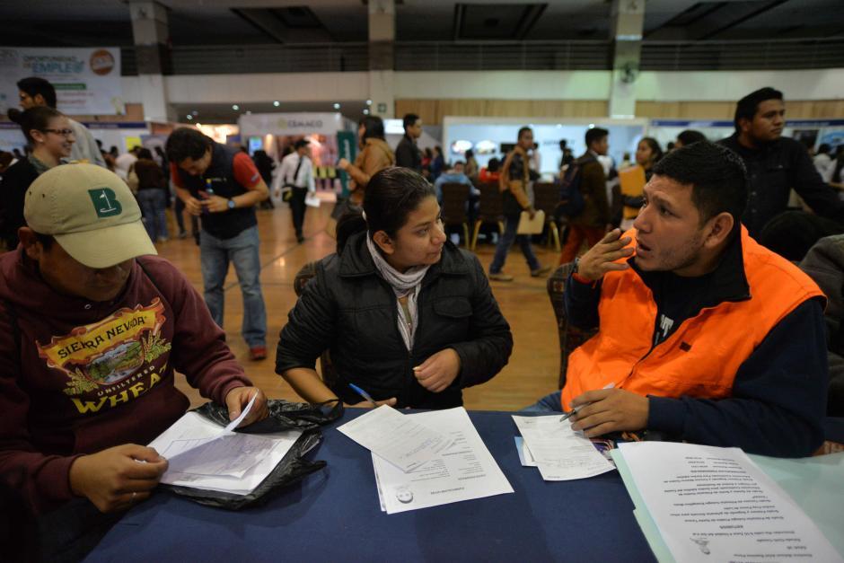 Esperan que las empresas les den una oportunidad. (Foto: Wilder López/Soy502)