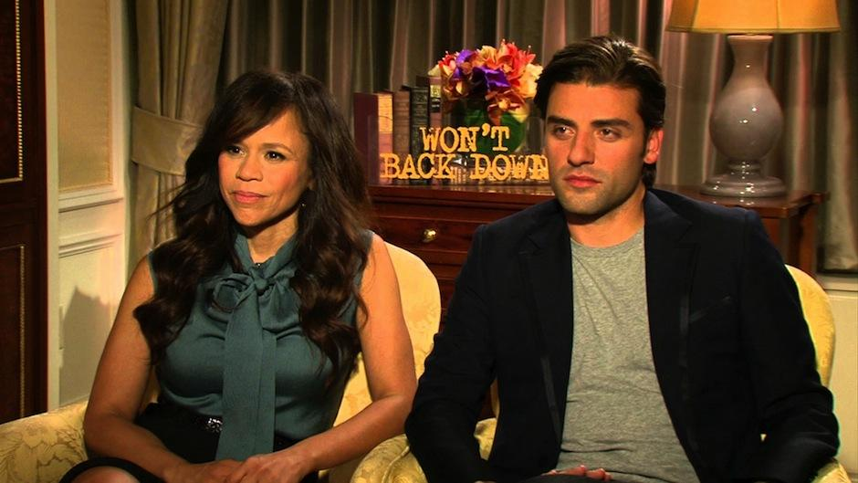 oscar Isaac comparte papeles con Rosie Pérez en el drama Won't Back now. (Foto: youtube)