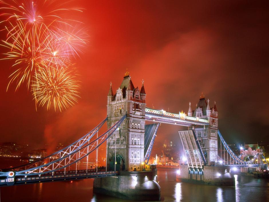 Londres es una de las ciudades especiales para celebrar el ano Nuevo. (Foto: Taringa)