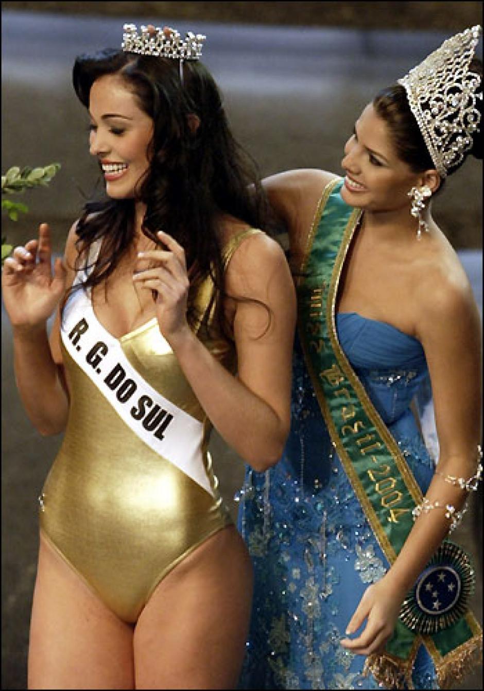 En 2004 Fabiane Niclotti fue coronada como Miss Brasil. (Foto: Folha)