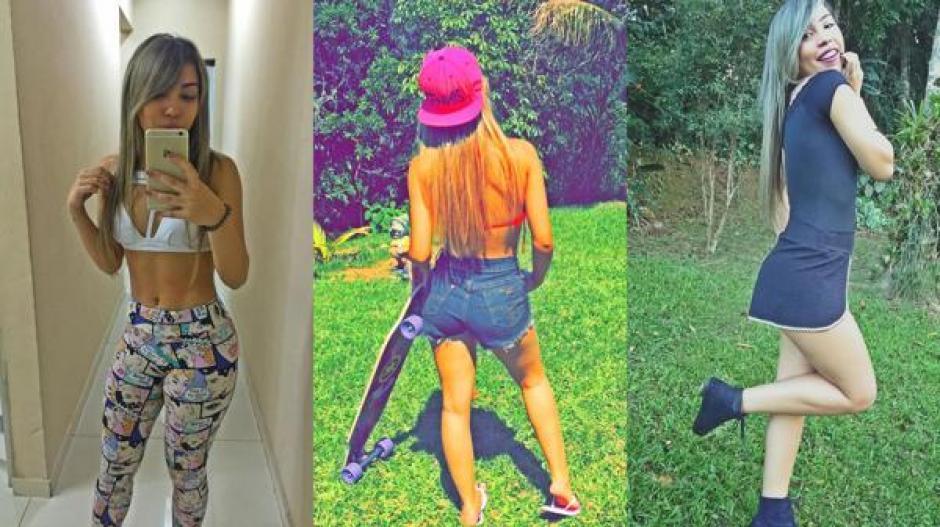 Amandha Lopes tiene 18 años y es seguidora de Cristiano Ronaldo en Instagram. (Foto: infobae.com)