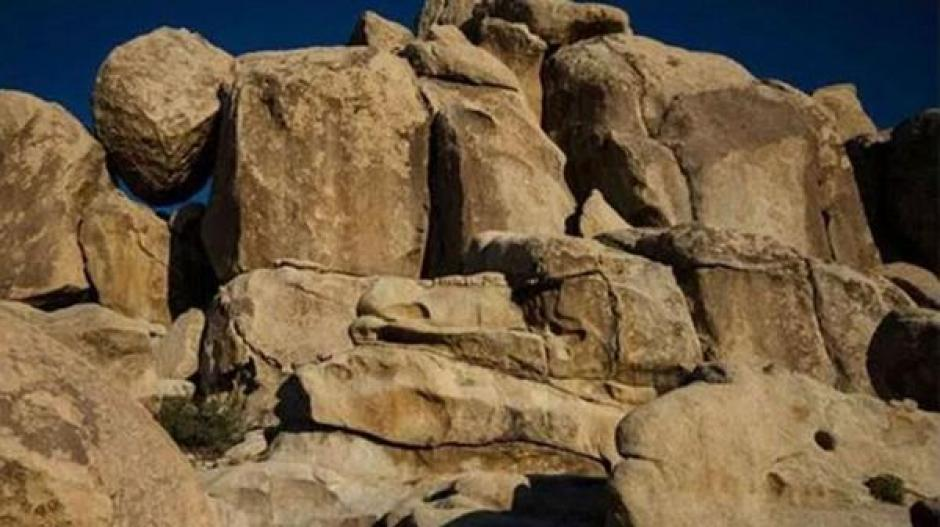 Un paisaje rocoso se ha convertido en el reto viral más difícil del año. (Foto: infobae.com)
