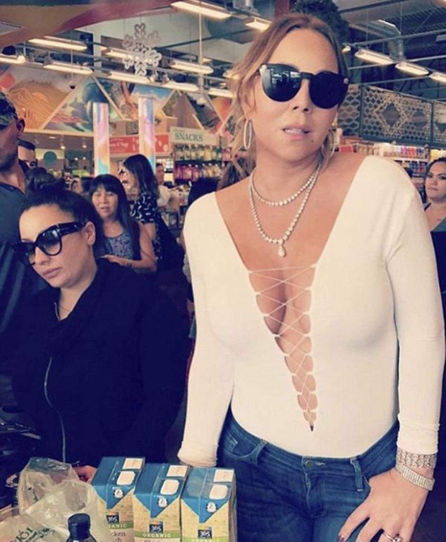 Carey salió de compras en Hawái. (Foto: Instagram)