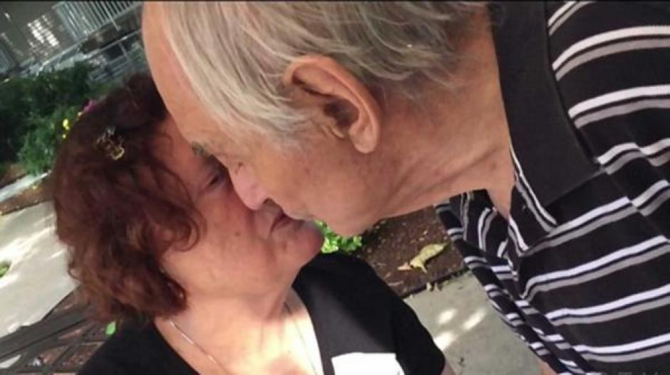 El amor entre ellos nunca mermó a pesar de los años. (Foto: infobae.com)