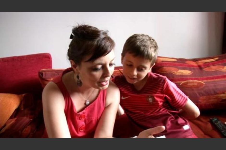 Mathis tiene diez años y ha recibido muchas felicitaciones por su noble gesto. (Foto: Infobae.com)