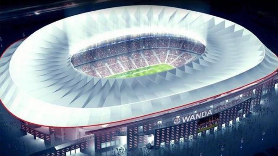 El nuevo estadio del Atlético de Madrid se encuentra en el ojo del huracán. (Foto: Infobae)