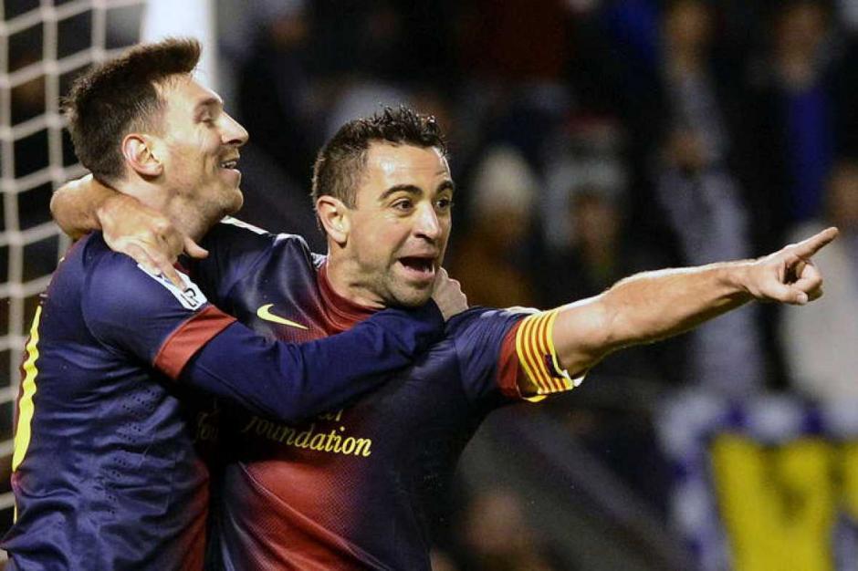 Xavi compartió equipo con Messi en el FC Barcelona. (Foto: rtve.es)