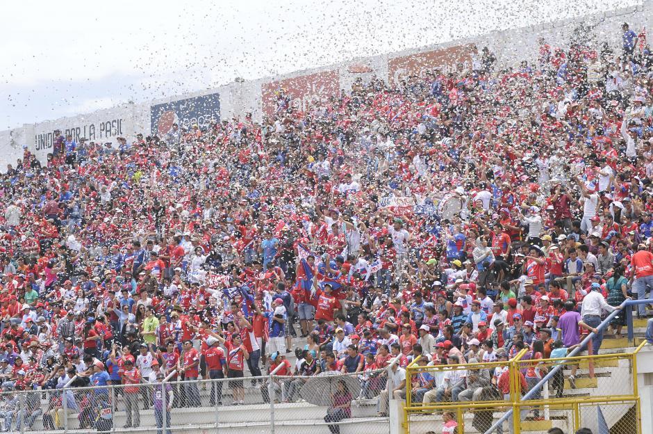 La afición quetzalteca respondió en buen número en el estadio Mario Camposeco.(Foto: Orlando Chile/Nuestro Diario)