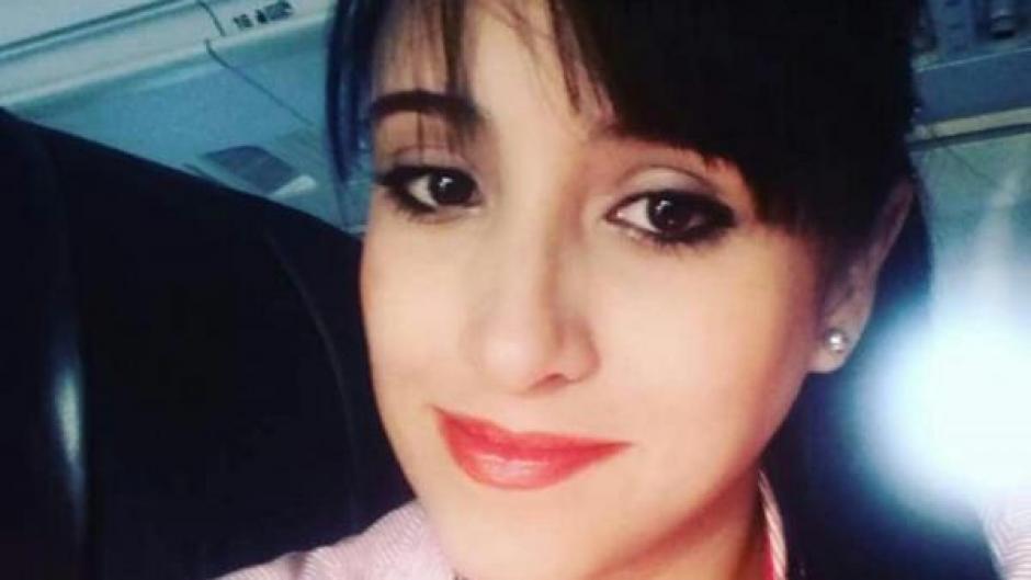 La auxiliar de vuelo Ximena Juarez también se encuentra en buen estado de salud. (Foto: Infobae)