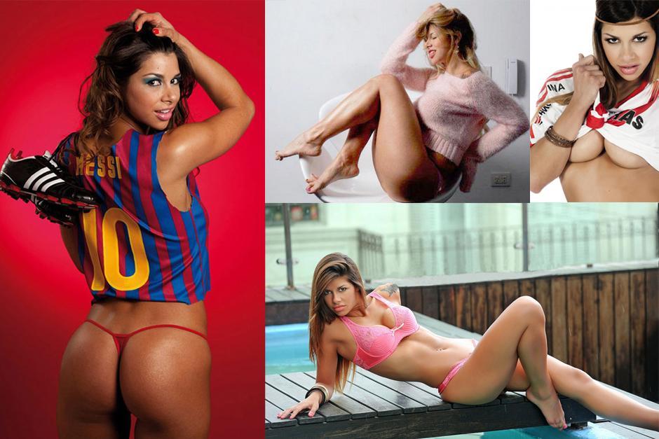 Xiona González, la modelo que afirma que tuvo un romance con Leonel Messi.
