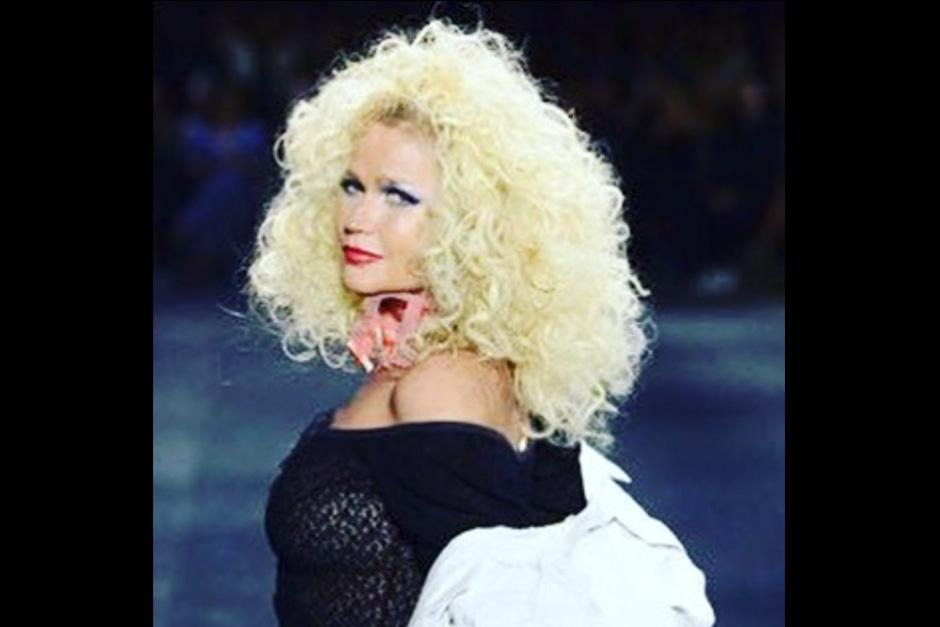 Xuxa apareció durante un desfile de modas del Río Fashion River. (Foto: Instagram)