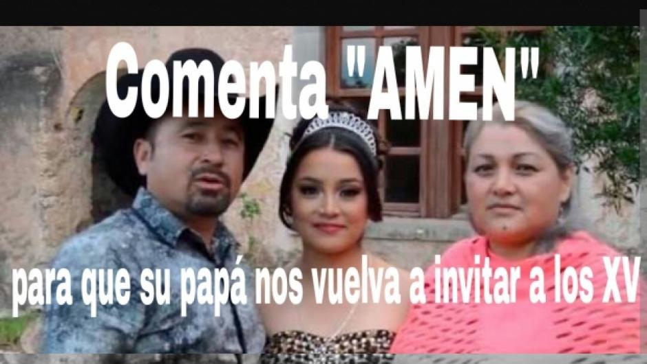 La invitación a la fiesta se viralizó en redes sociales. (Foto: Xv Años De Ruby En San Luis Potosi/Facebook)