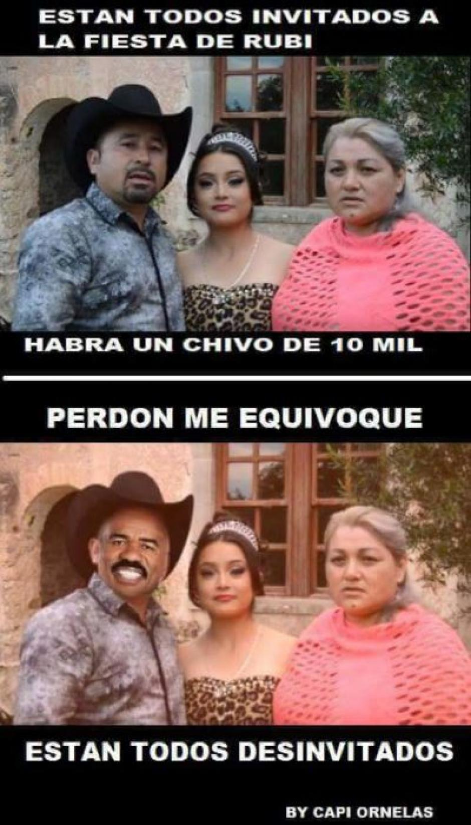 El cambio de parecer de los padres hizo recordar la elección de Miss Universo de este año. (Foto: Xv Años De Ruby En San Luis Potosi/Facebook)