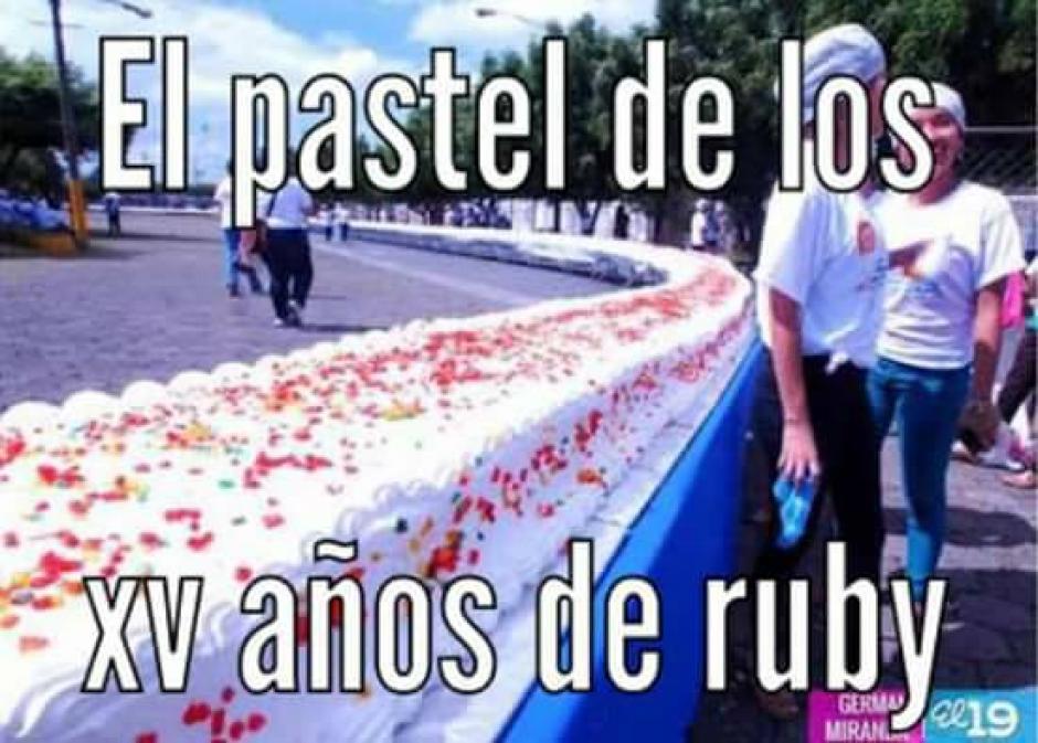 La invitación a la fiesta de Rubí era abierta. (Foto: Xv Años De Ruby En San Luis Potosi/Facebook)