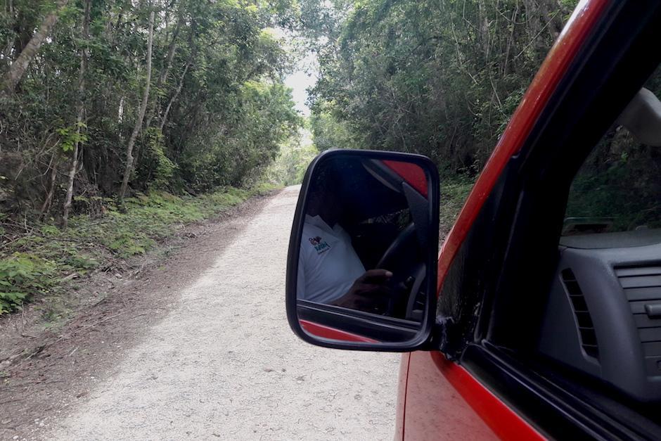 El parque esta a 72 kilómetros del municipio de Flores, Peten por un camino de tierra. (Foto: Javier Lainfiesta/Soy502)