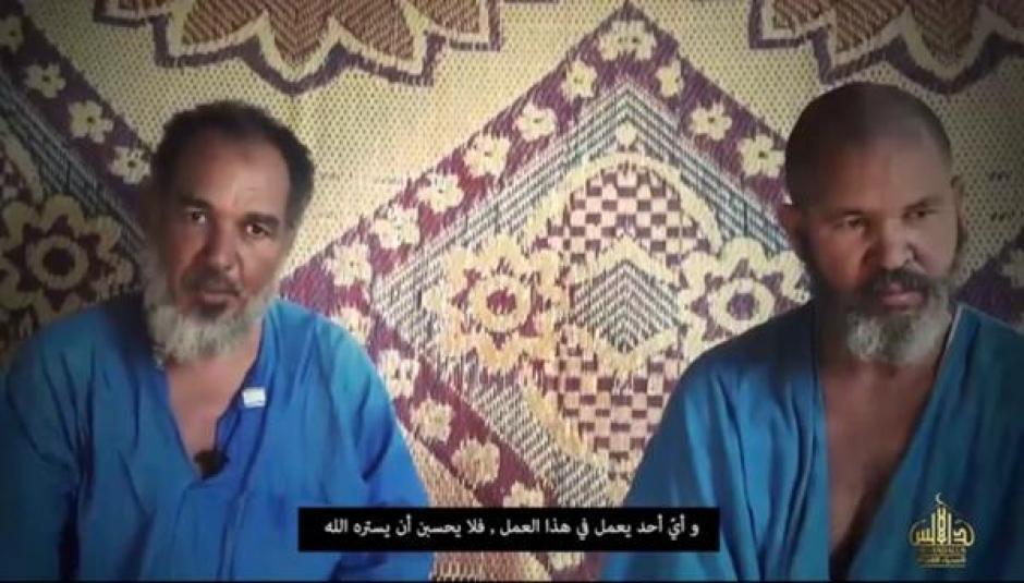 Como Mohamed Ould Beih y El Hussein fueron identificadas las víctimas. (Foto: Infobae)