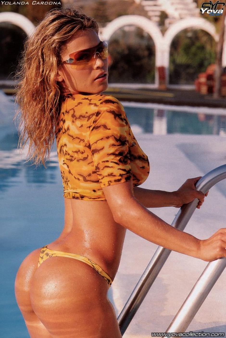 Yolanda Cardona, mujer de Víctor Valdés, ha sido una modelo cotizada. (Foto: Yolanda Cardona)