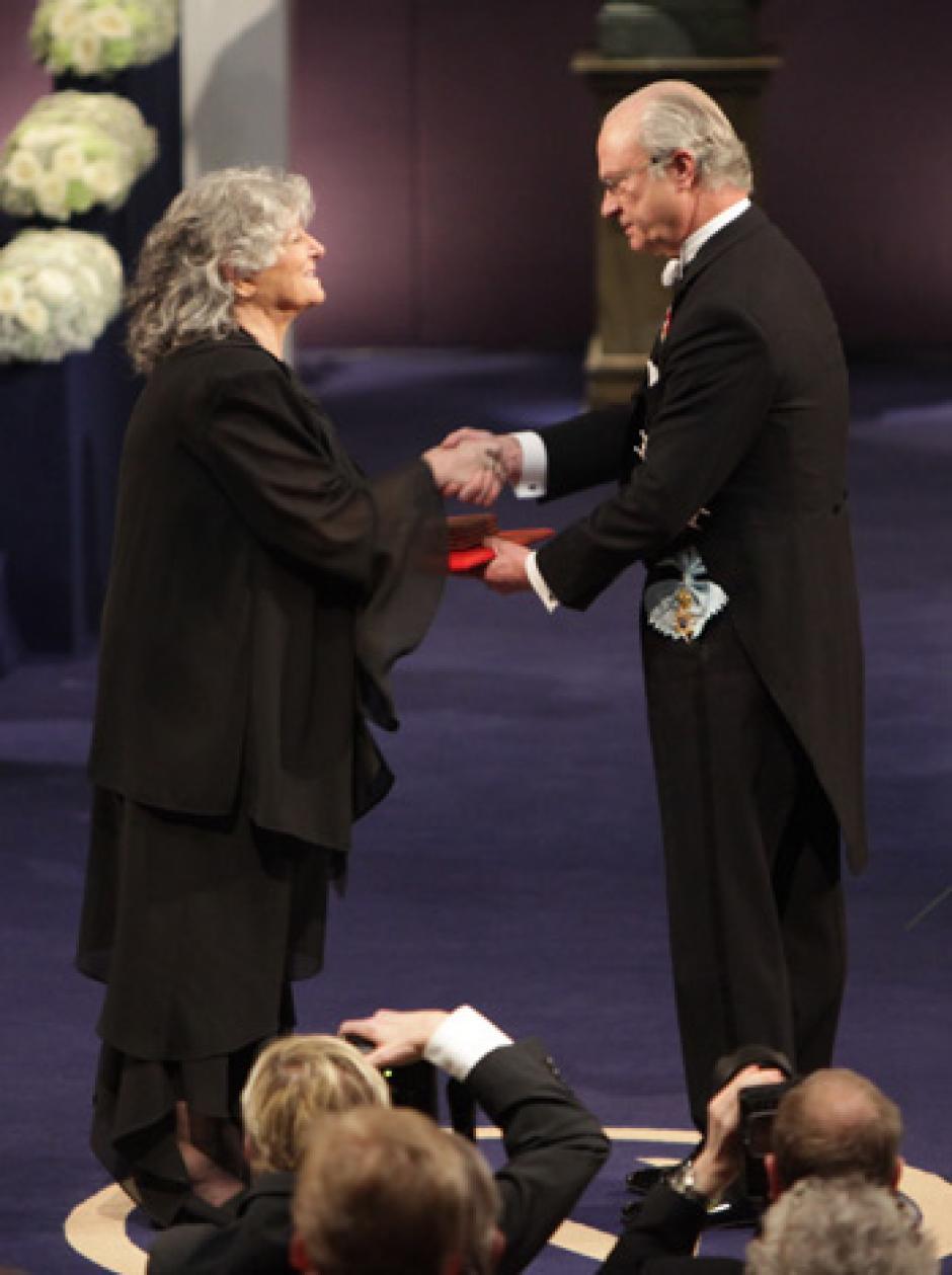 La israelí Ada Yodath es una de las pocas mujeres que tiene este galardón científico. (Foto: Premio Nobel)
