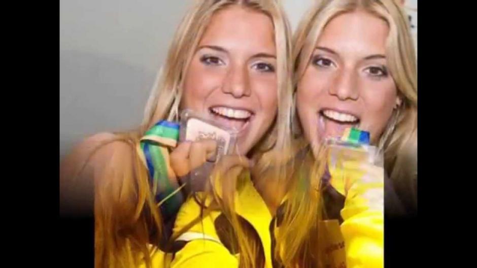 Las nadadoras sincronizadas ganaron una medalla de bronce en los Panamericanos de 2007. (Imagen: YouTube.com)