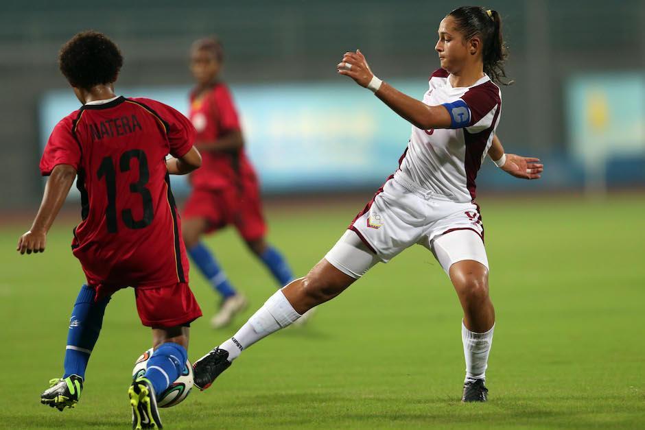 Castellanos es muy talentosa y ha llevado a la selección hasta la semifinal del Mundial femenino Sub-17. (Foto: panorama.com.ve)