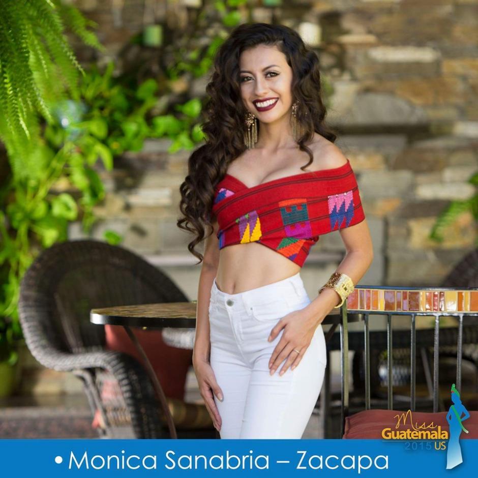 Mónica Sanabria representa Zacapa. (Foto: Miss Guatemala US)